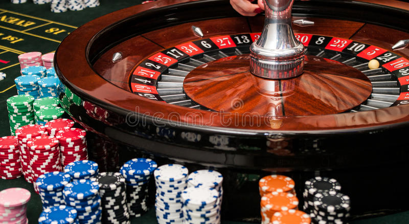 Roulette images stock