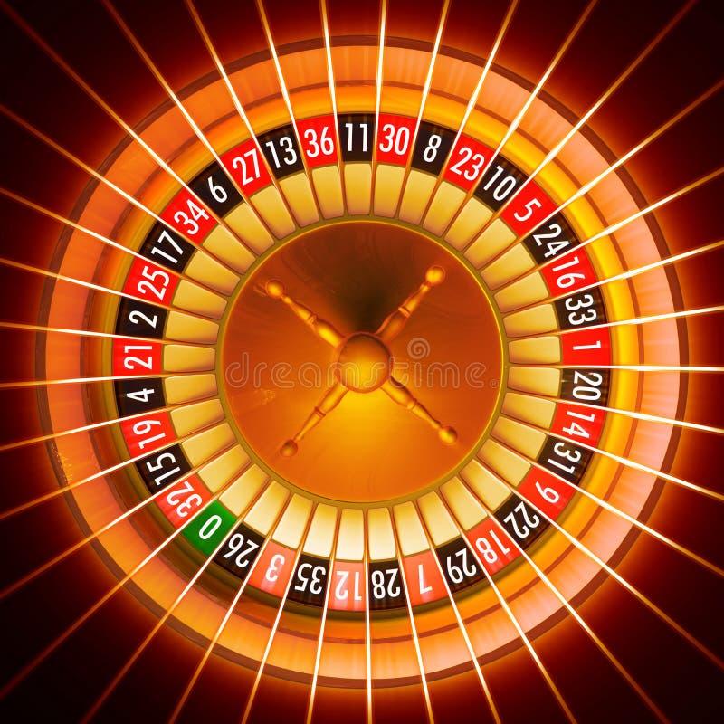 Roulette illustrazione di stock