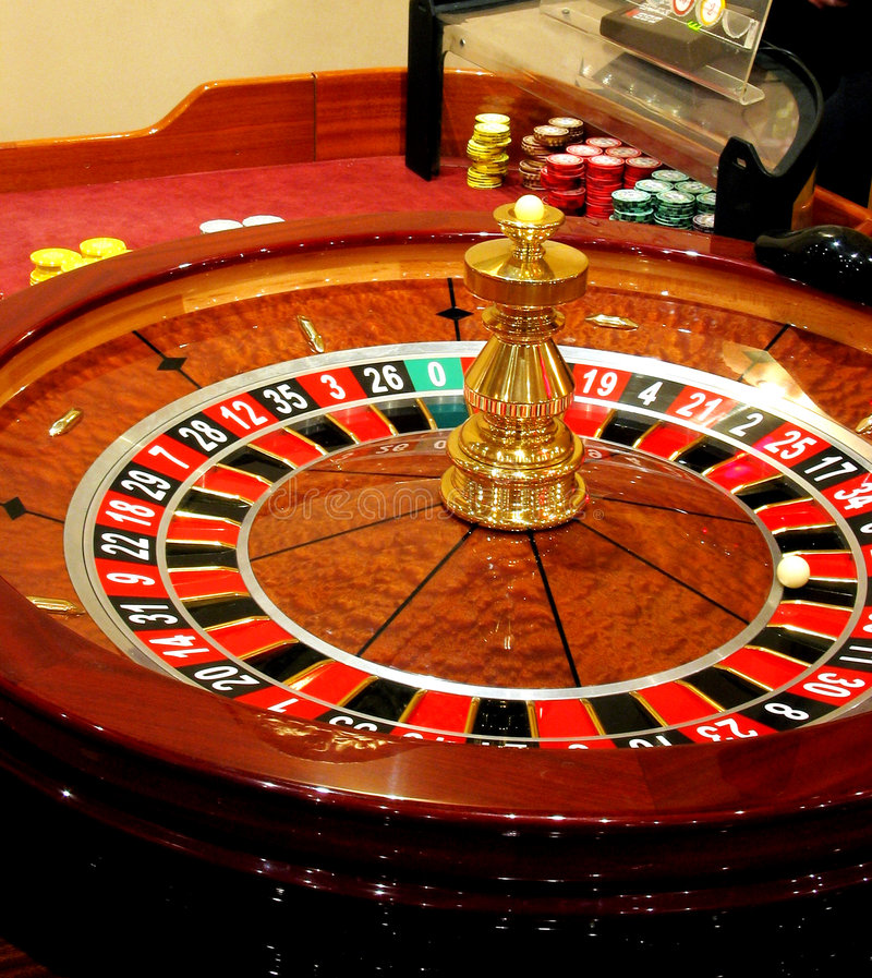 A roulette stock photo