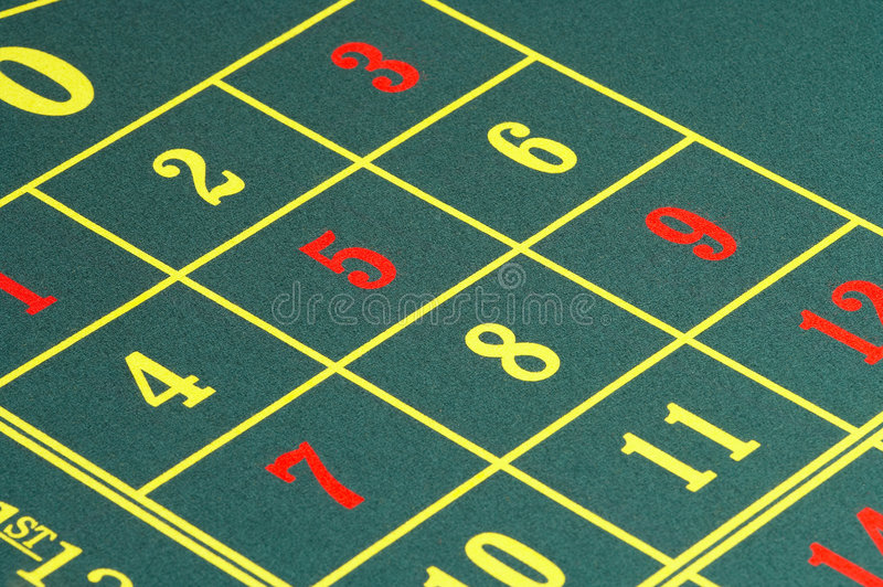 Roulette royalty-vrije stock afbeelding