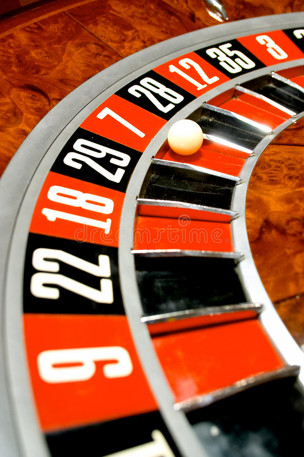 Roulette fotografia stock