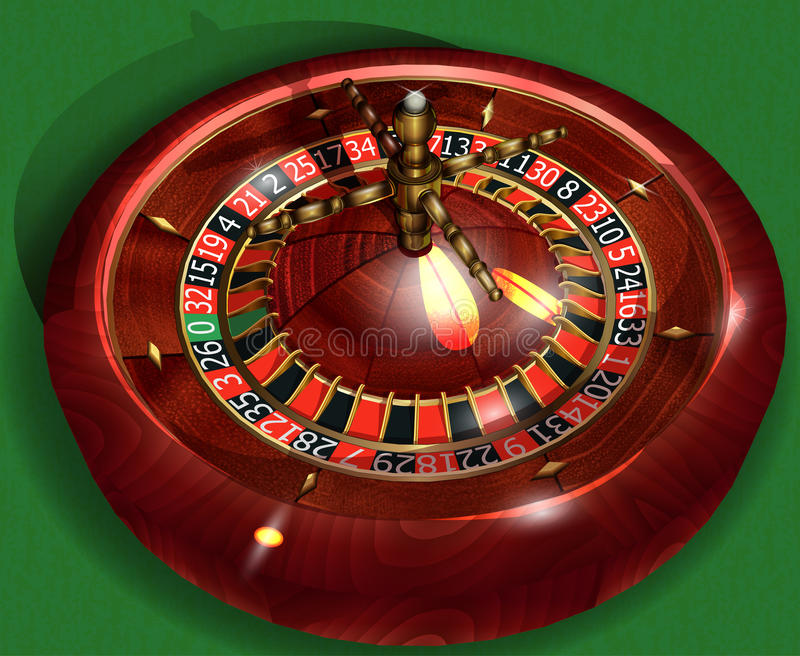 roulette stock illustratie