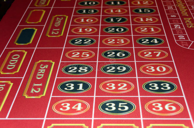 Roulette casino royalty free stock image