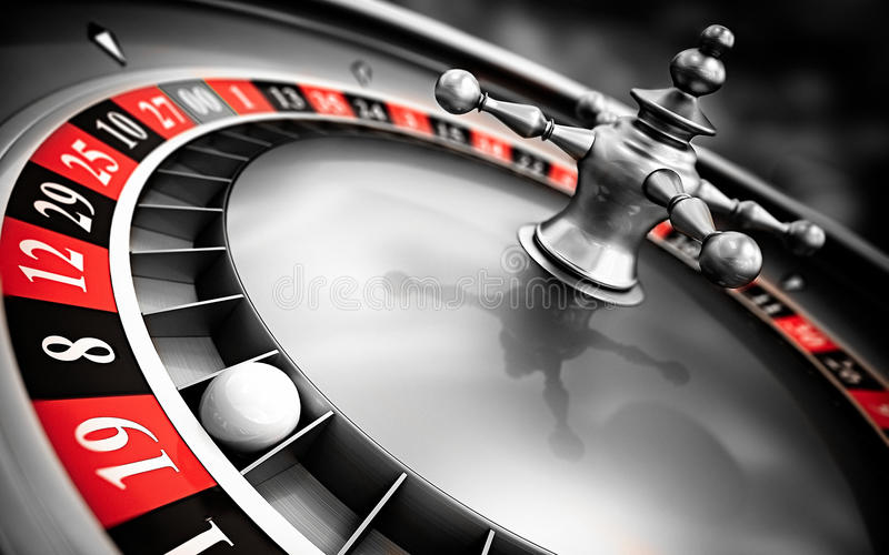 Roulette close up royalty free stock images