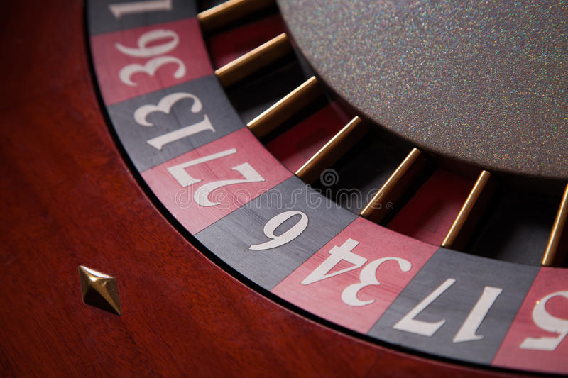 Roulette Closeup Stock Photos