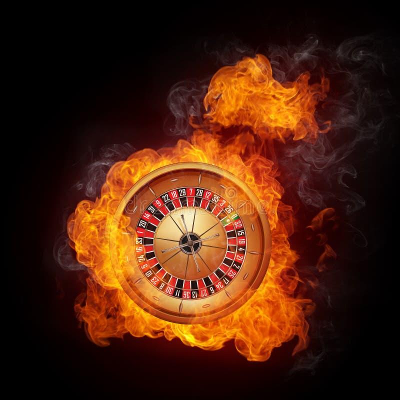 Roulette de casino illustration de vecteur