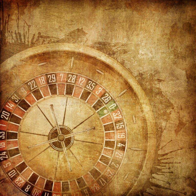 Roulette de casino illustration libre de droits