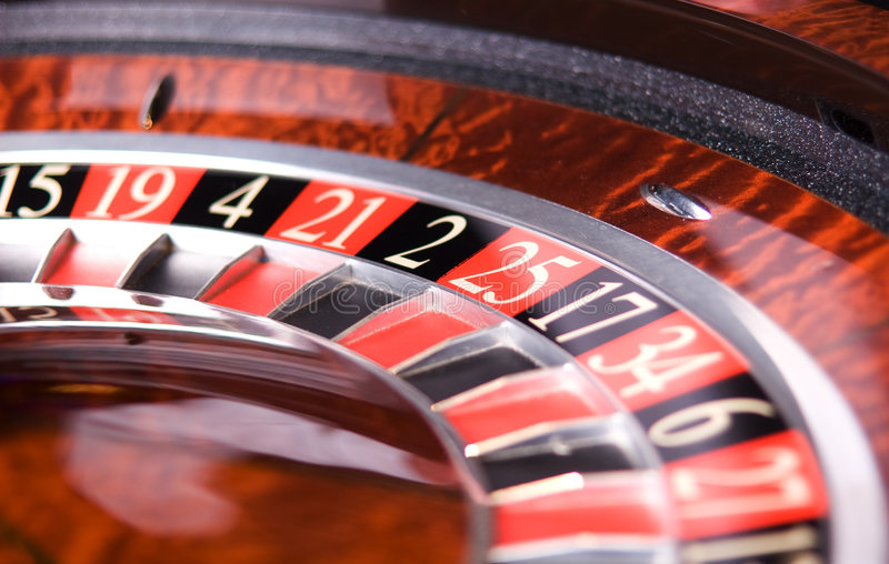 Roulette de casino photo libre de droits