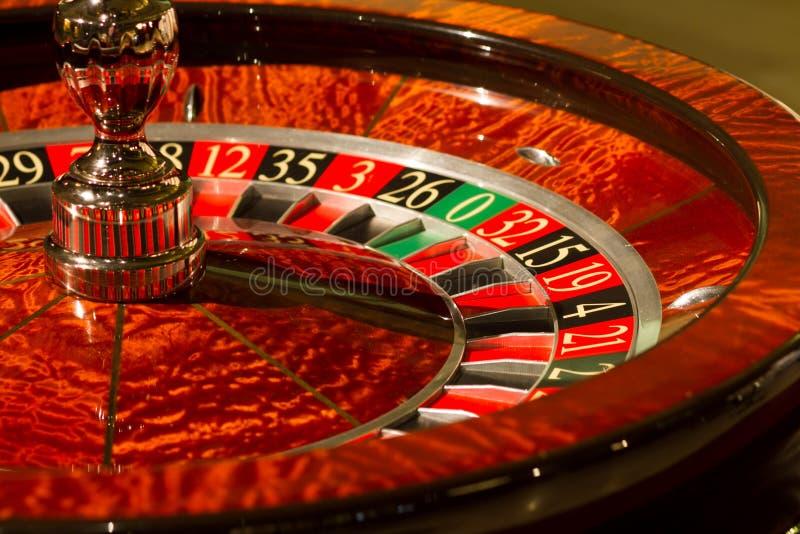 Roulette de casino images libres de droits