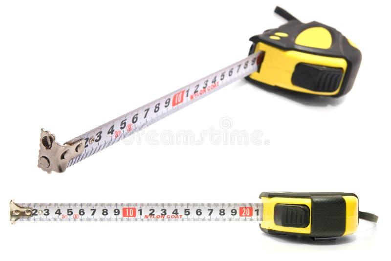 Roulette de mesure images stock