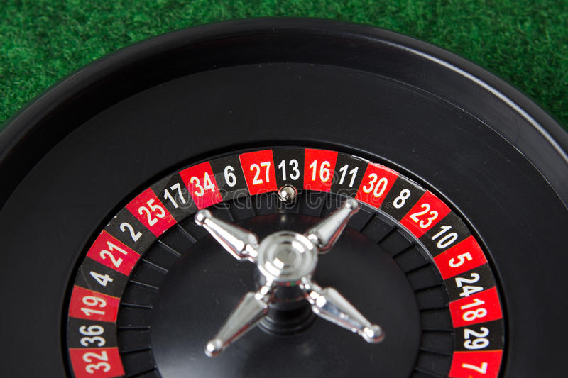 Roulette detail royalty free stock photos