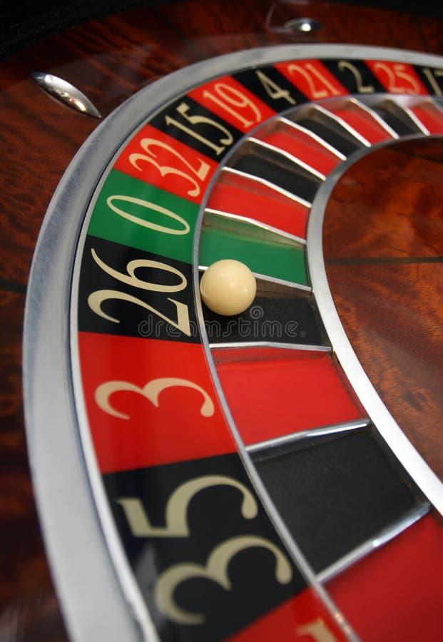 Roulette im Kasino lizenzfreies stockbild