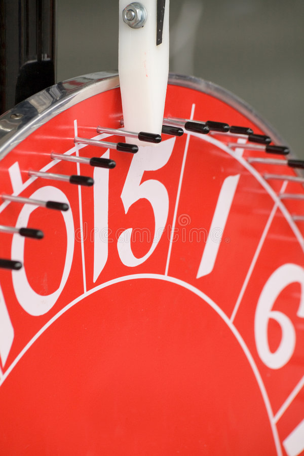 Roulette rosse fotografia stock libera da diritti