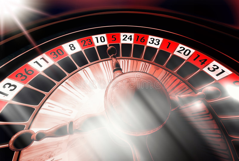 Roulette scure illustrazione di stock