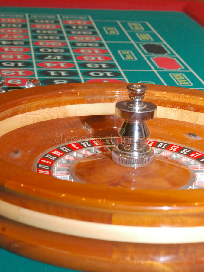 Roulette-Tabelle 3 lizenzfreies stockfoto
