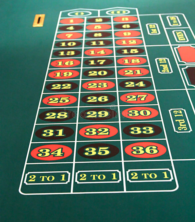 Download Roulette Table stock image. Image of table, casino, games - 2080383