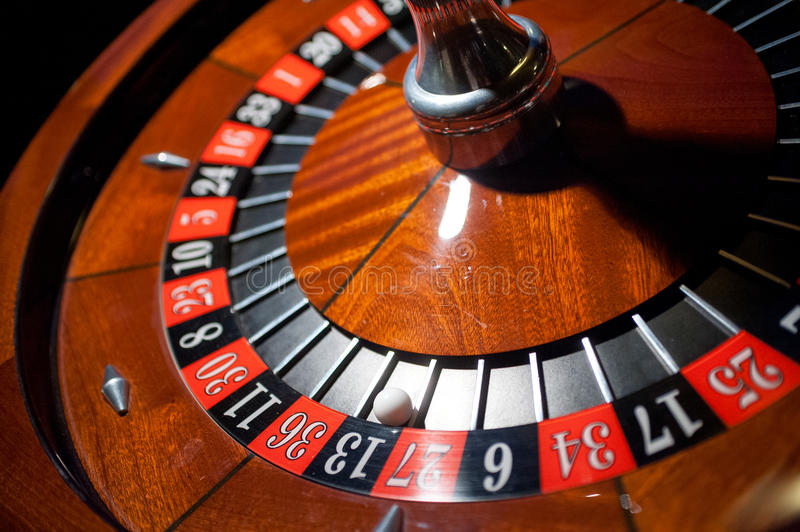Roulette table royalty free stock photography