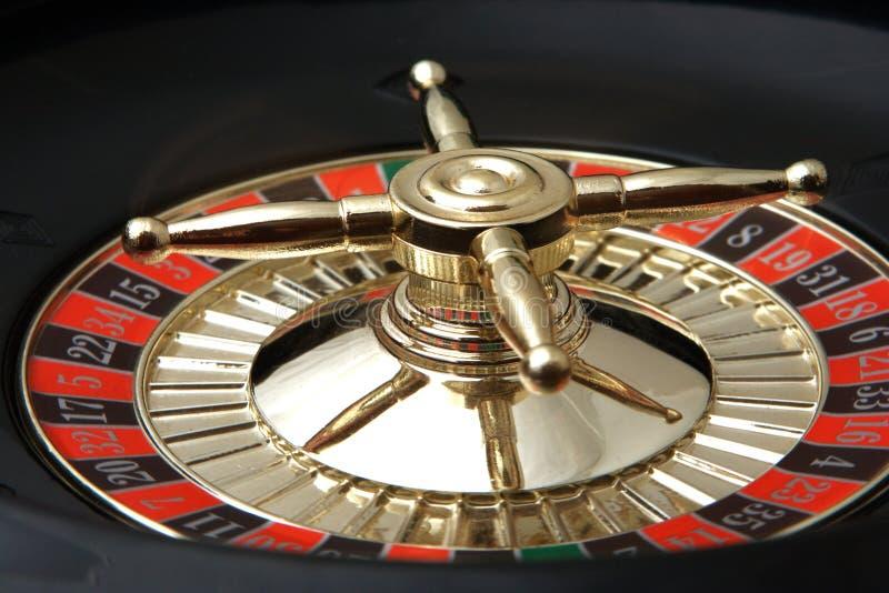 Roulette van een casino royalty-vrije stock foto's