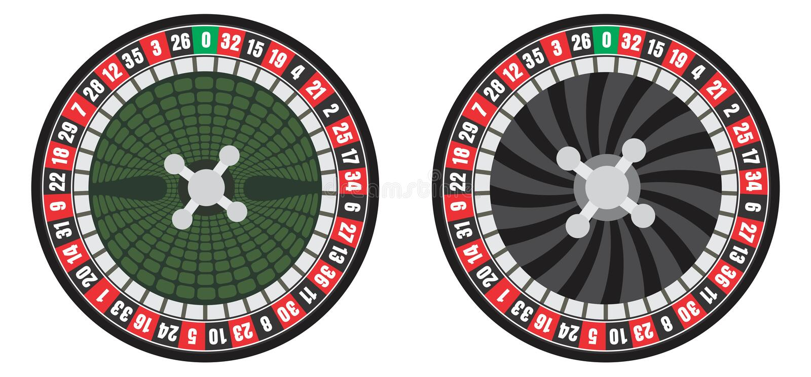 Download Roulette wheel stock vector. Illustration of play, gamble - 23007354