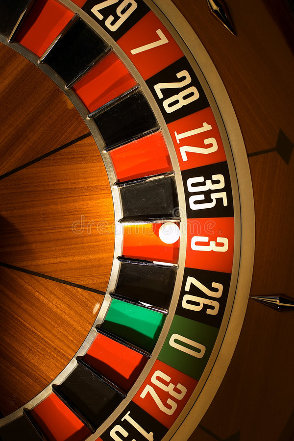 Roulette wheel stock photos