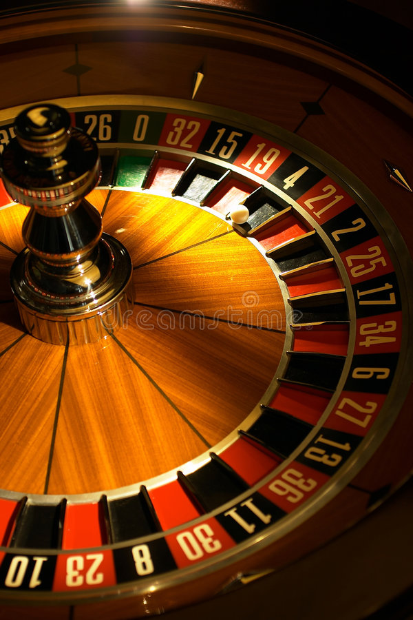 Roulette wheel royalty free stock photo