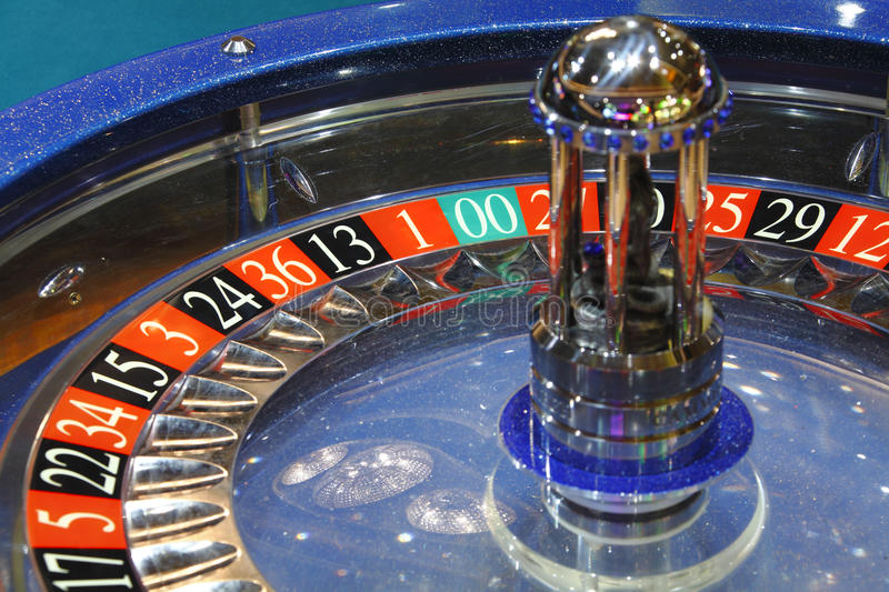 Roulette wheel casino royalty free stock photography