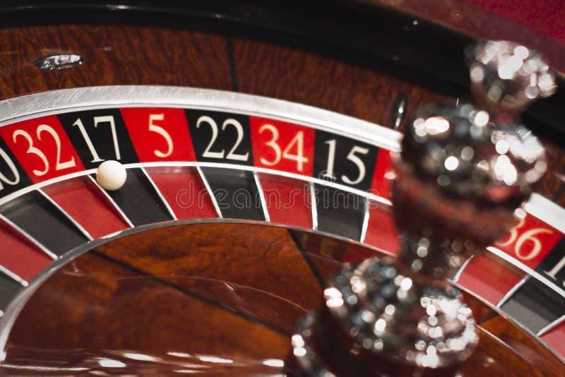 Roulette wheel royalty free stock photos