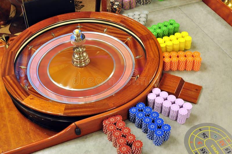Roulettekessel stockfotografie