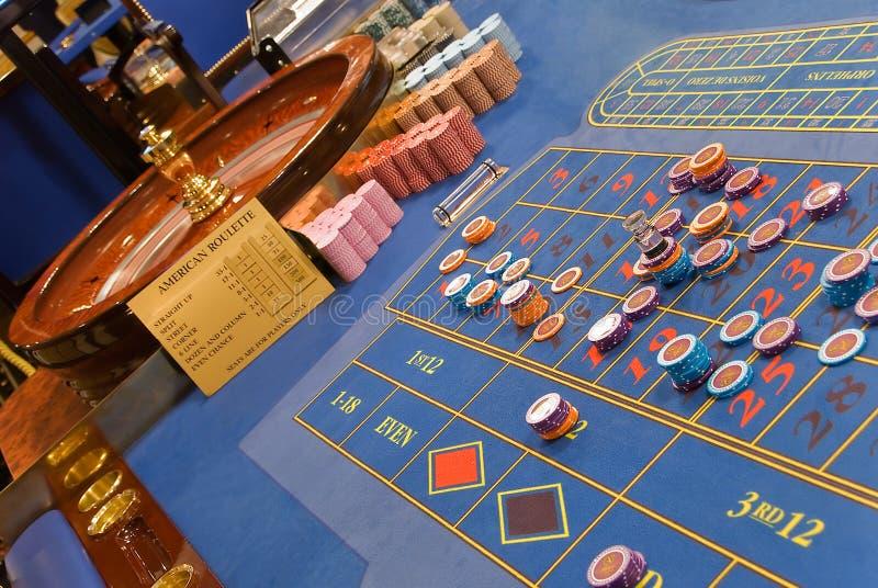 Roulettespiel stockfotos