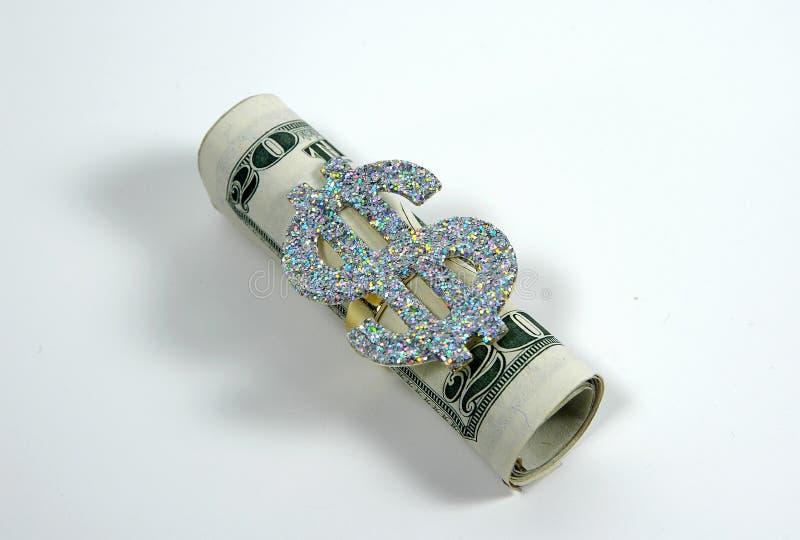 Roulis d'argent photographie stock libre de droits