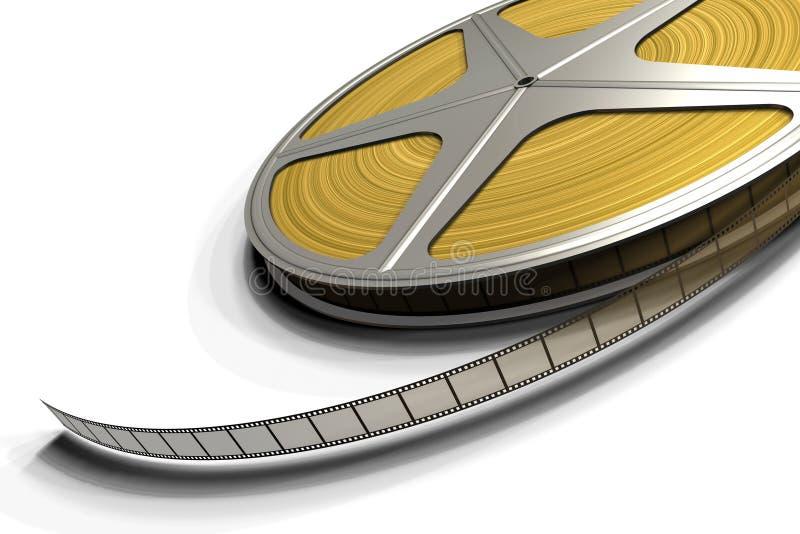 Roulis de film illustration libre de droits