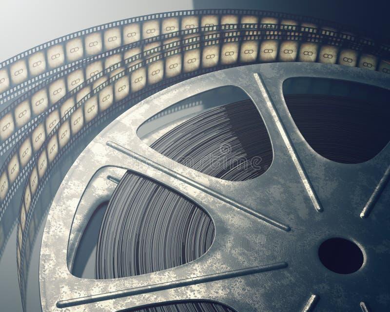 Roulis de film photographie stock