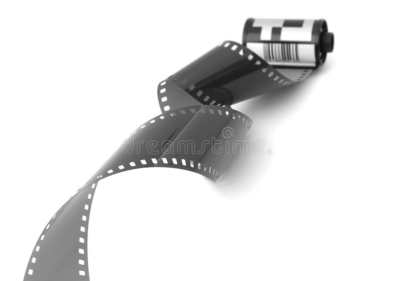 Roulis de film photos stock