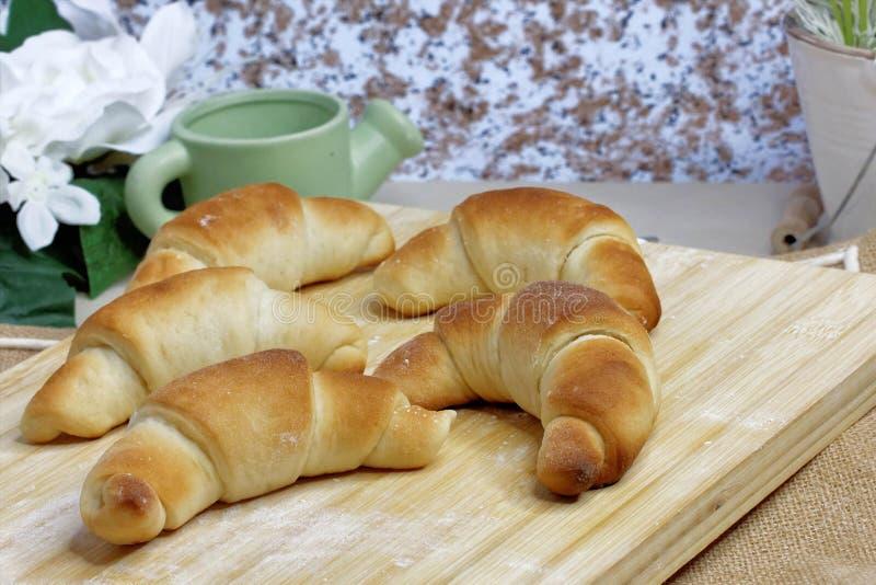 Roulis de pain frais photos stock