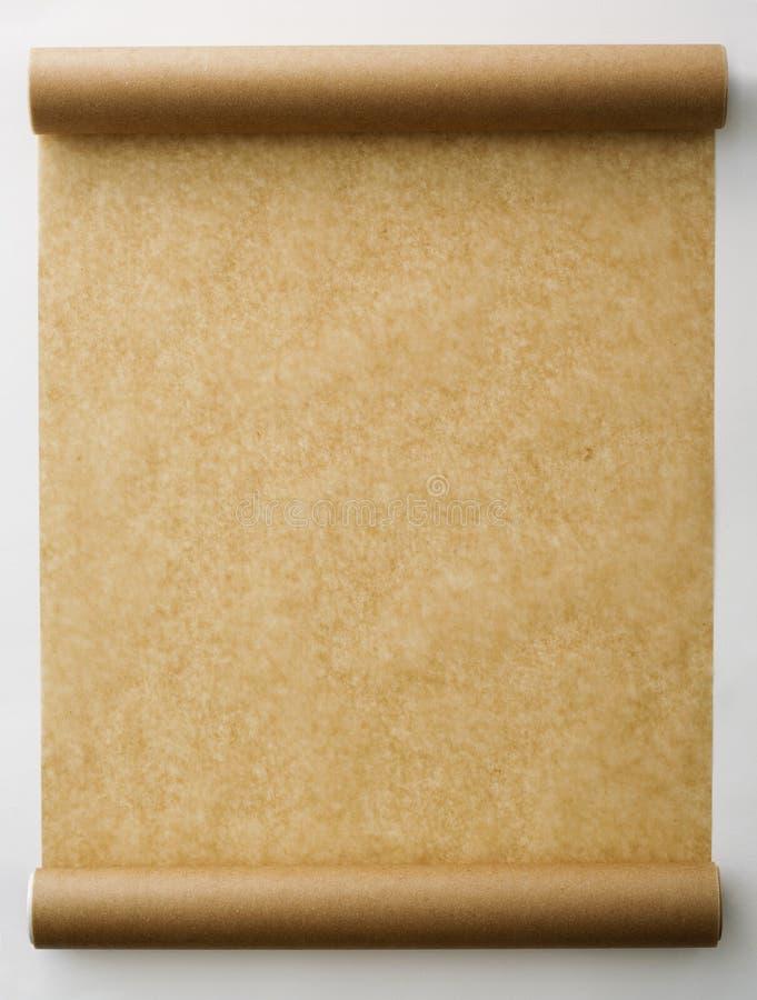 Roulis de papier. photographie stock