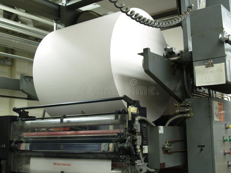 Roulis de papier photographie stock