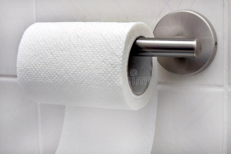 Roulis de papier hygiénique images stock