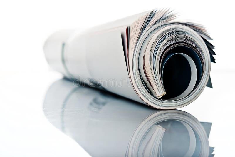 Roulis de revue photographie stock libre de droits