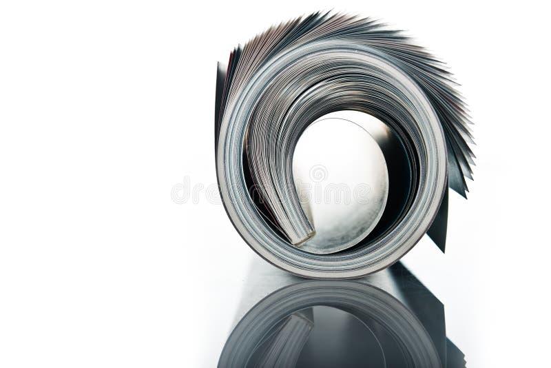 Roulis de revue photo libre de droits