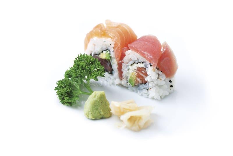 Roulis de sushi images stock