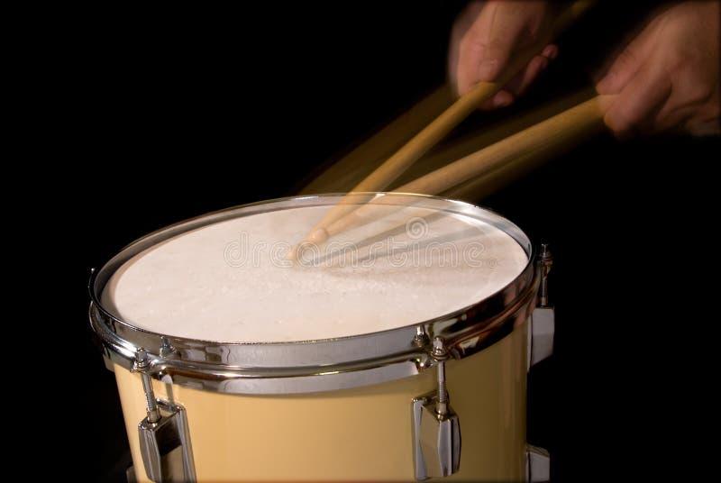 Roulis de tambour photographie stock