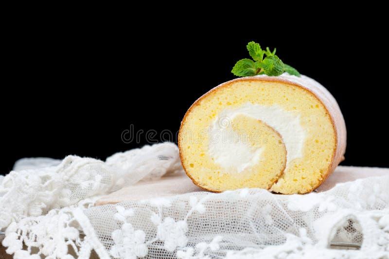 Roulis fait main de gâteau photos libres de droits