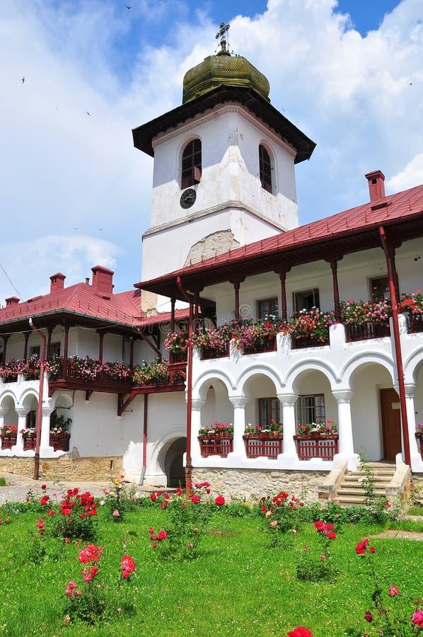 Roumain orthodoxe de monastère images libres de droits