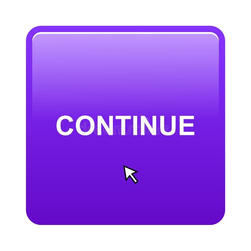 Continue button stock photos