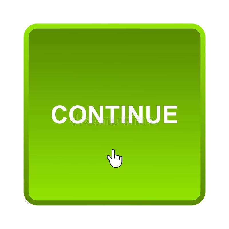 Continue button stock images