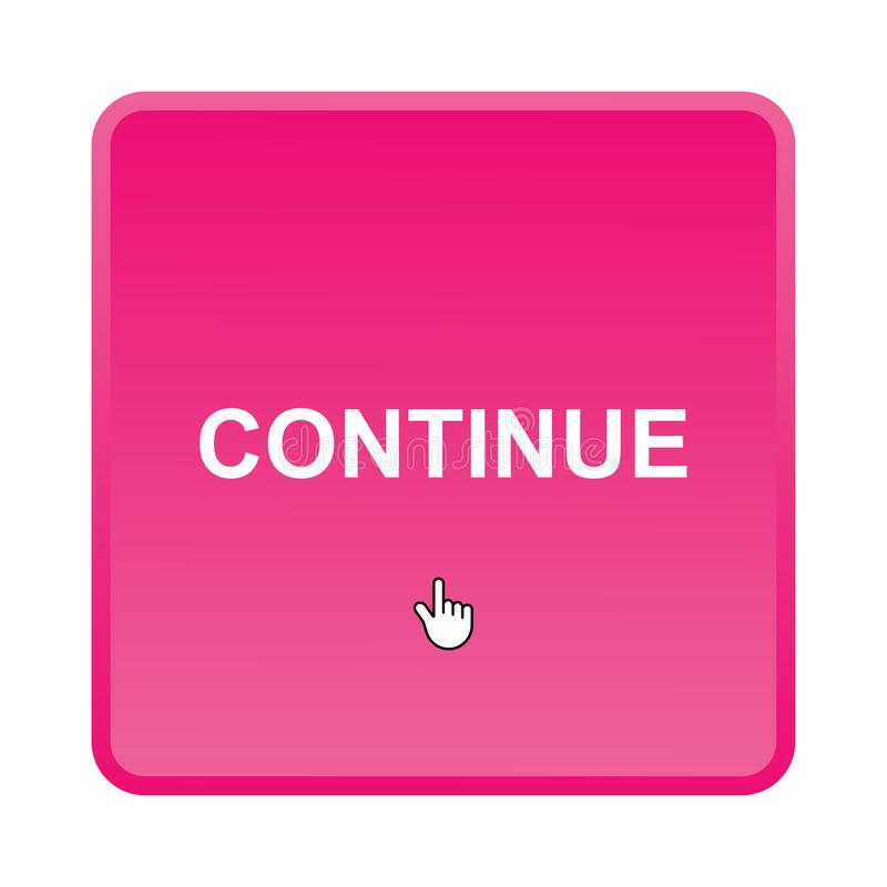 Continue button royalty free stock image