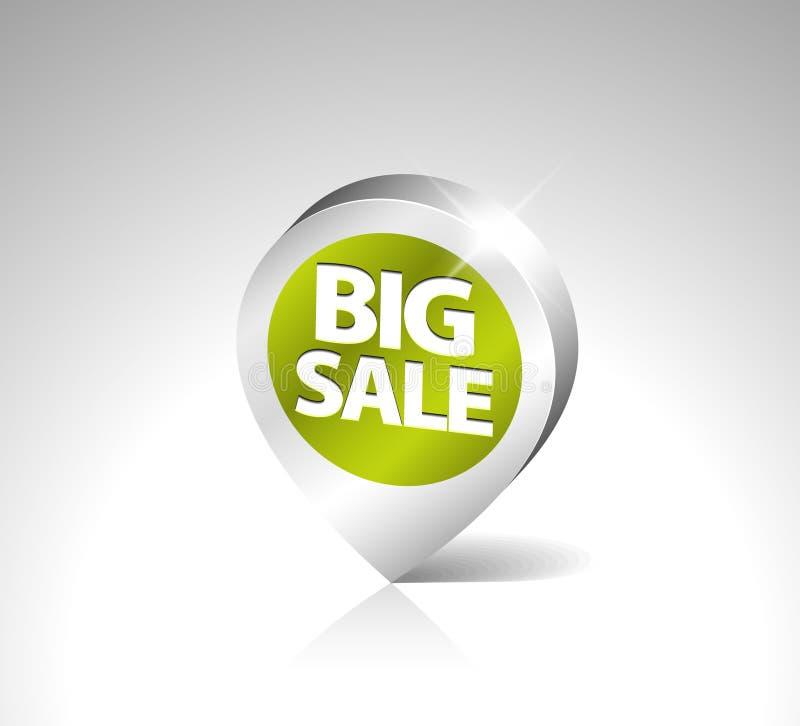 Download Round 3D Pointer For Big Sale Stock Illustration - Image: 16811749