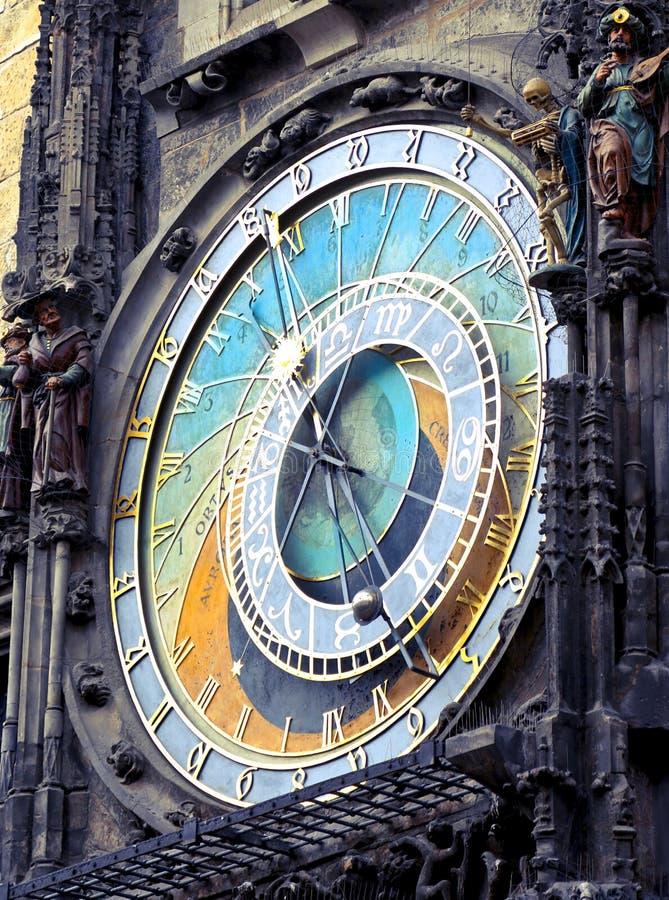 Round Analog Clock stock images