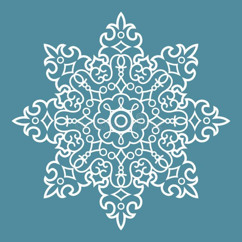 Round Arabesque Pattern royalty free illustration