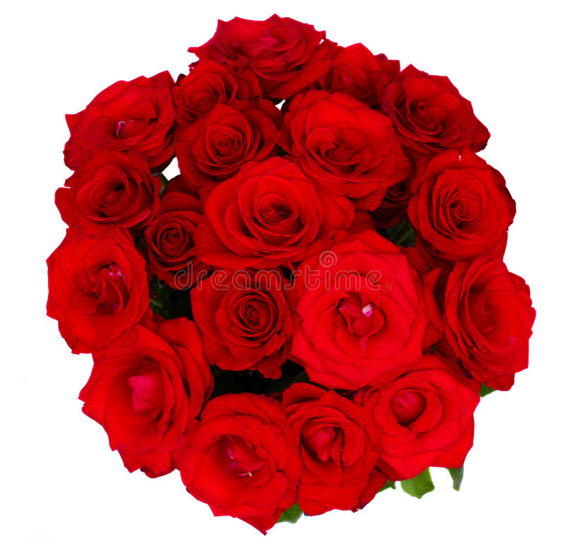 Free Round Bouquet Of Red Roses Stock Image - 25182391